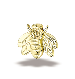 14k Bee Threadless End