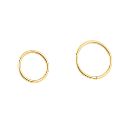 14k Seam Rings