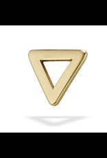 14k WG Open Triangle (5mm)