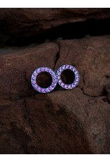 Ti SF Single Row Gem Eyelets
