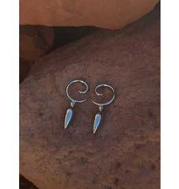6g Silver Teardrop Weights