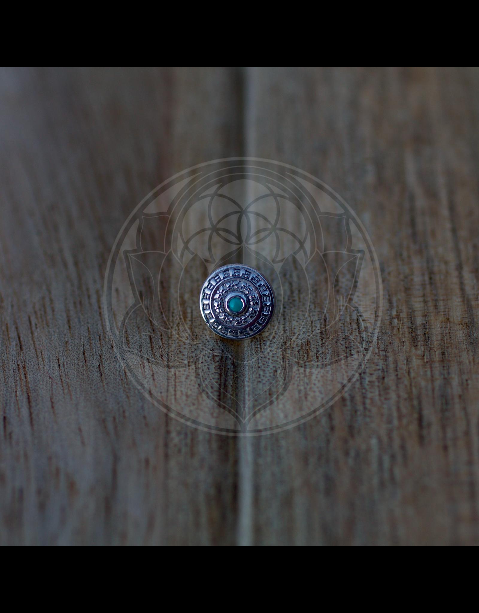14k WG Relic 1.5mm (6.85mm) Threadless Pin