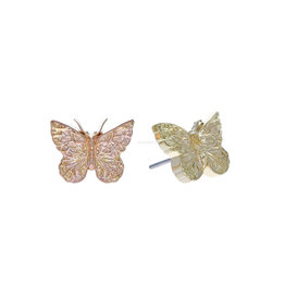 18k Butterfly Threadless End