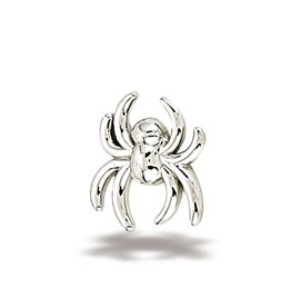 14k WG Spider (6x5.5mm) Threadless End