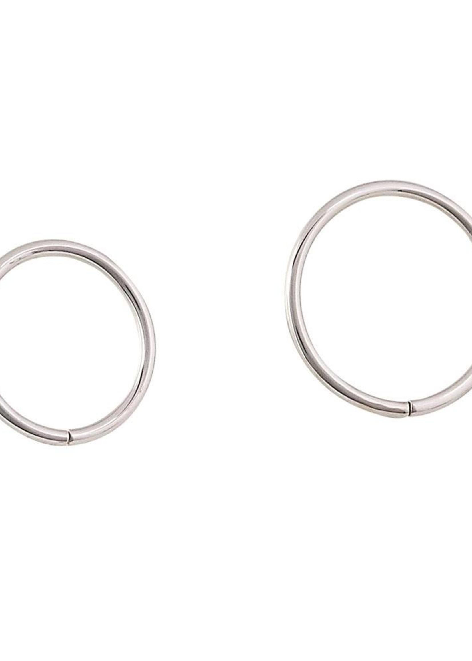 18g 14k Seam Rings