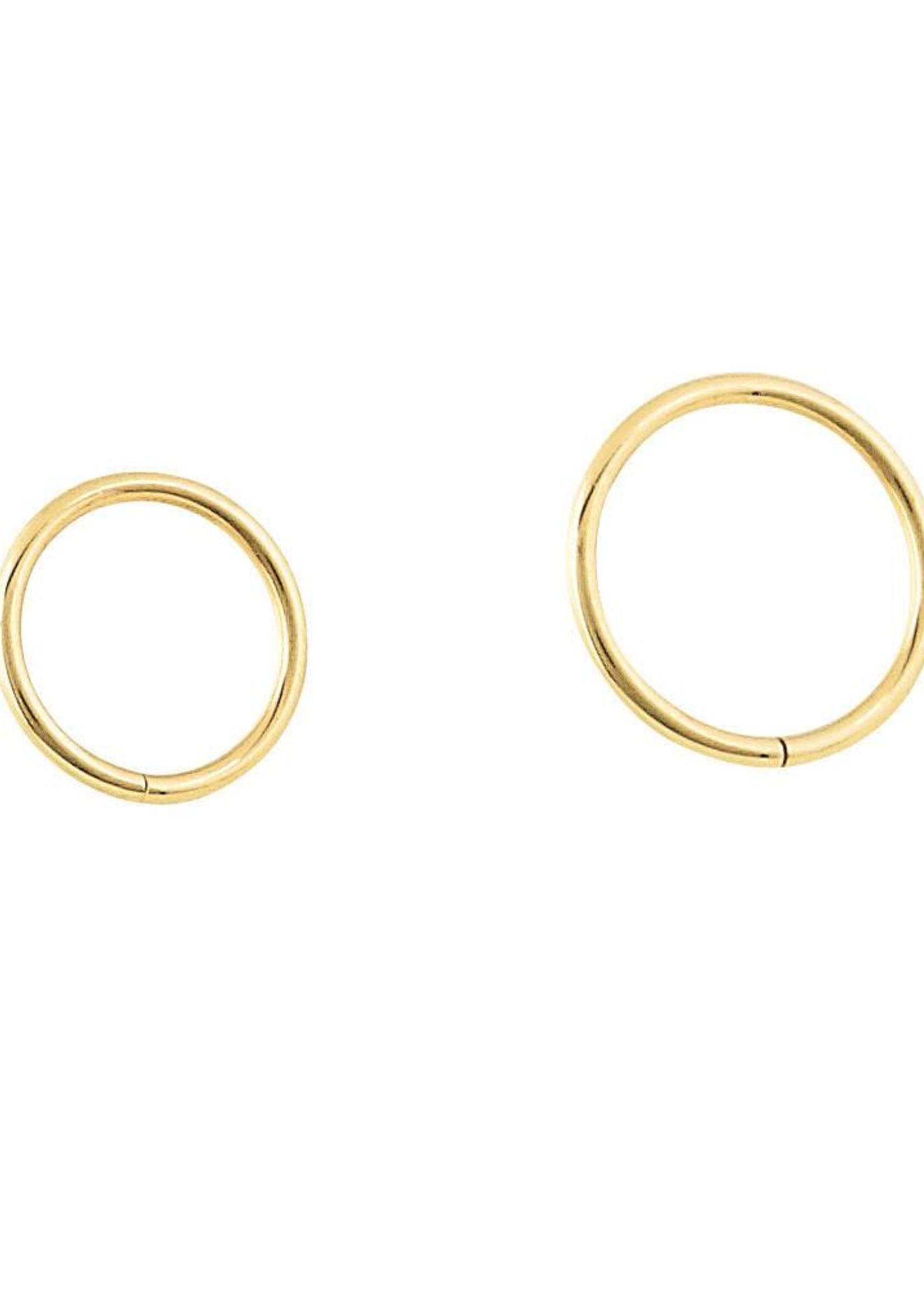 20g 14k Seam Rings