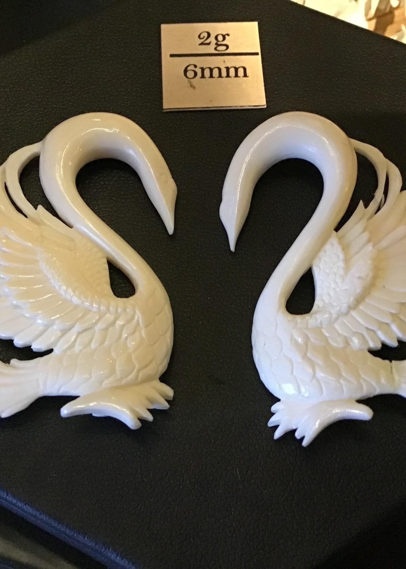 2g Bone Trumpeter Swans