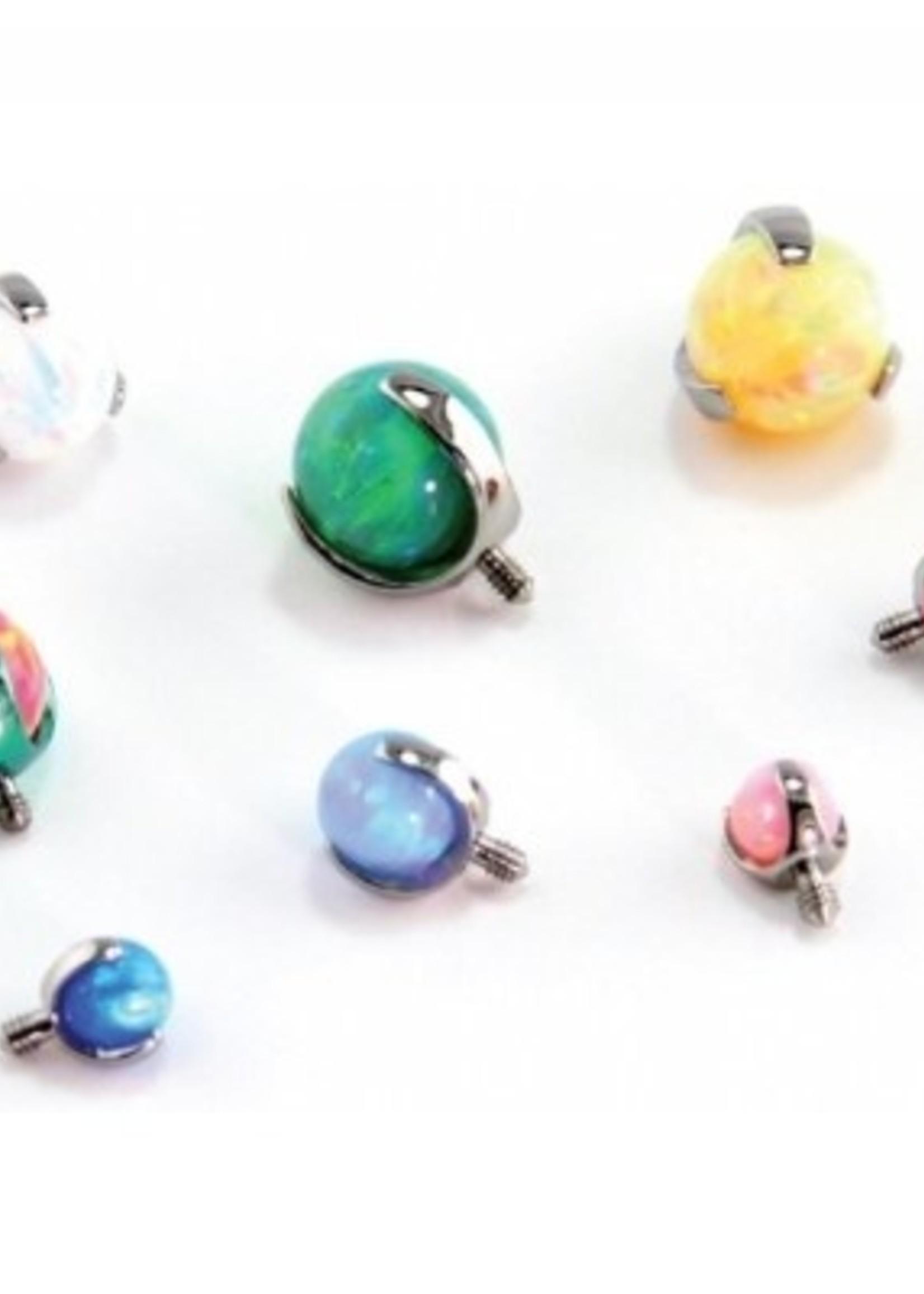 14g 3-prong Opal Threaded Ends