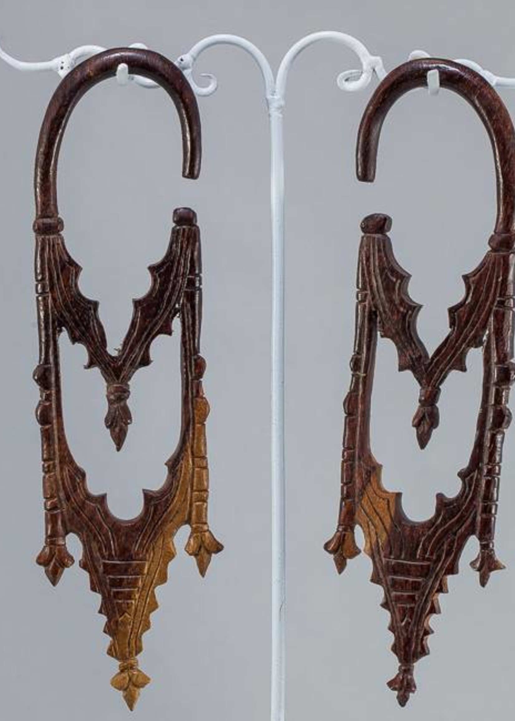 2g Ebony Gothic Cathedral Hangers