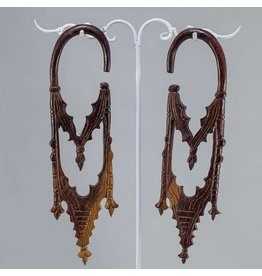 2g Ebony Gothic Cathedral Hangers