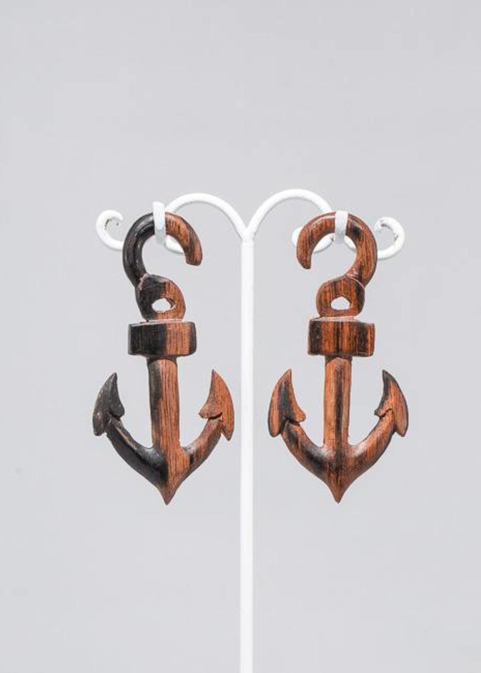 4g Ebony Anchor Hangers