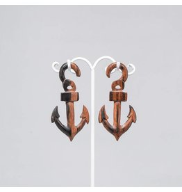 4g Ebony Anchor Hangers
