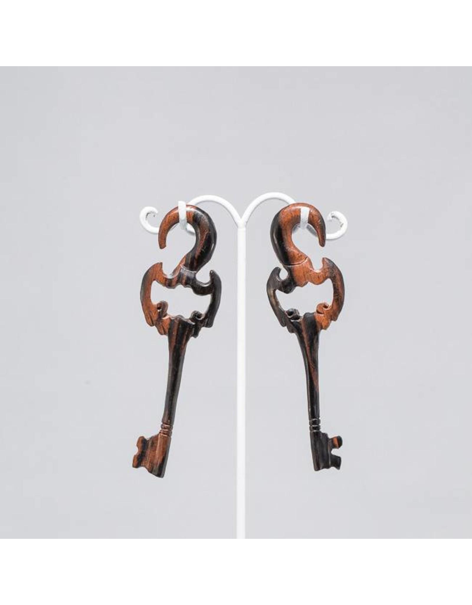 6g Ebony Key Hangers