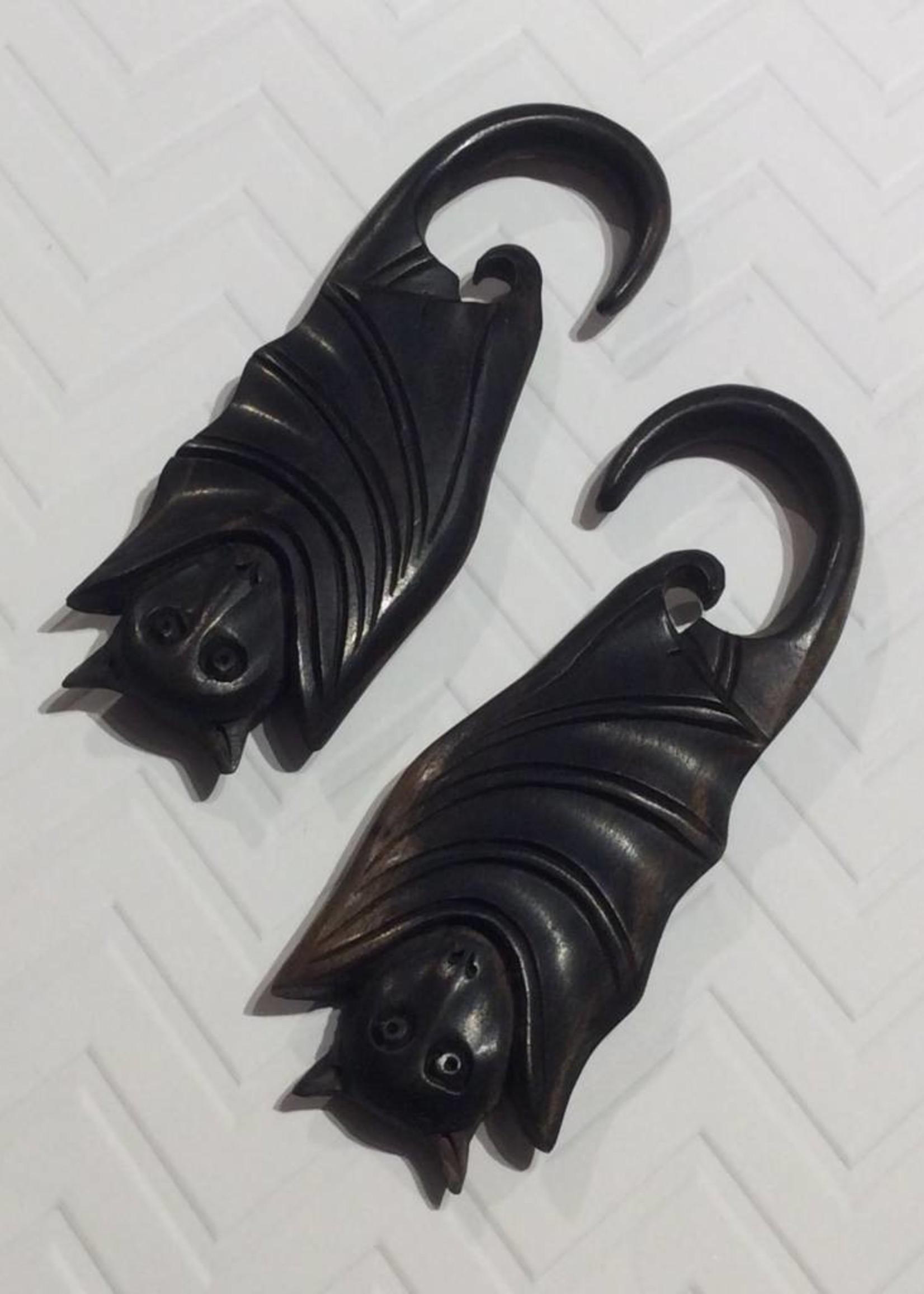 2g Ebony Bat Hangers