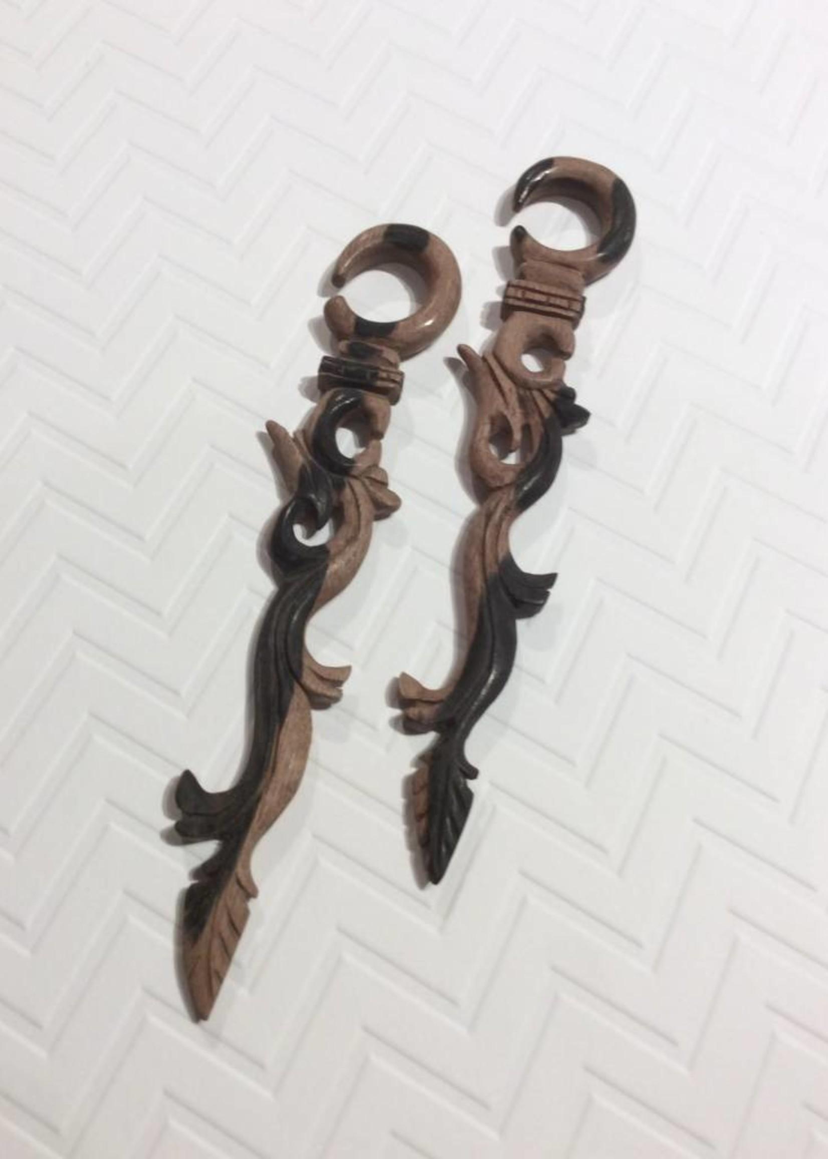 2g Ebony Long Vine Hangers