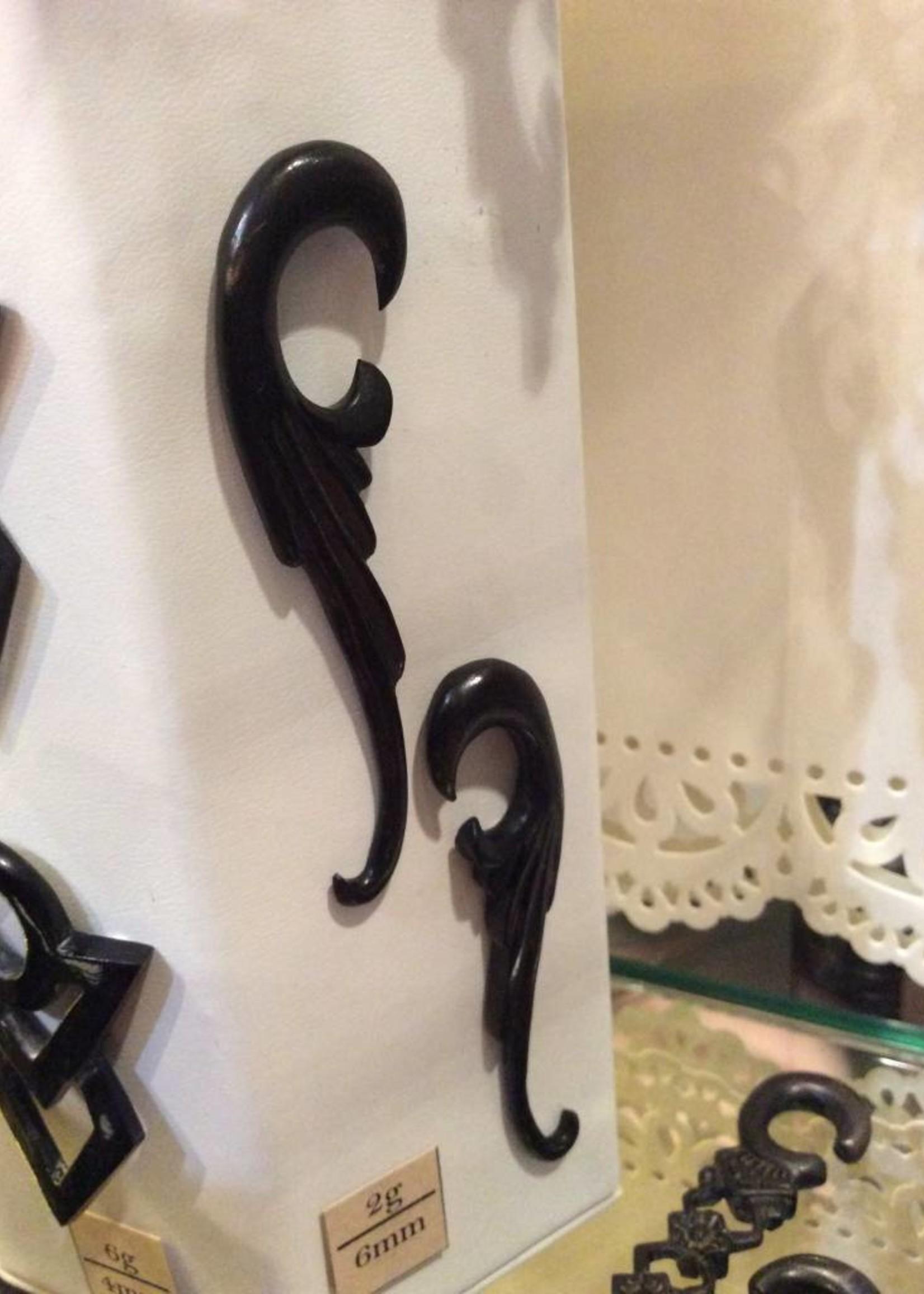2g Ebony Thin Wing Hangers