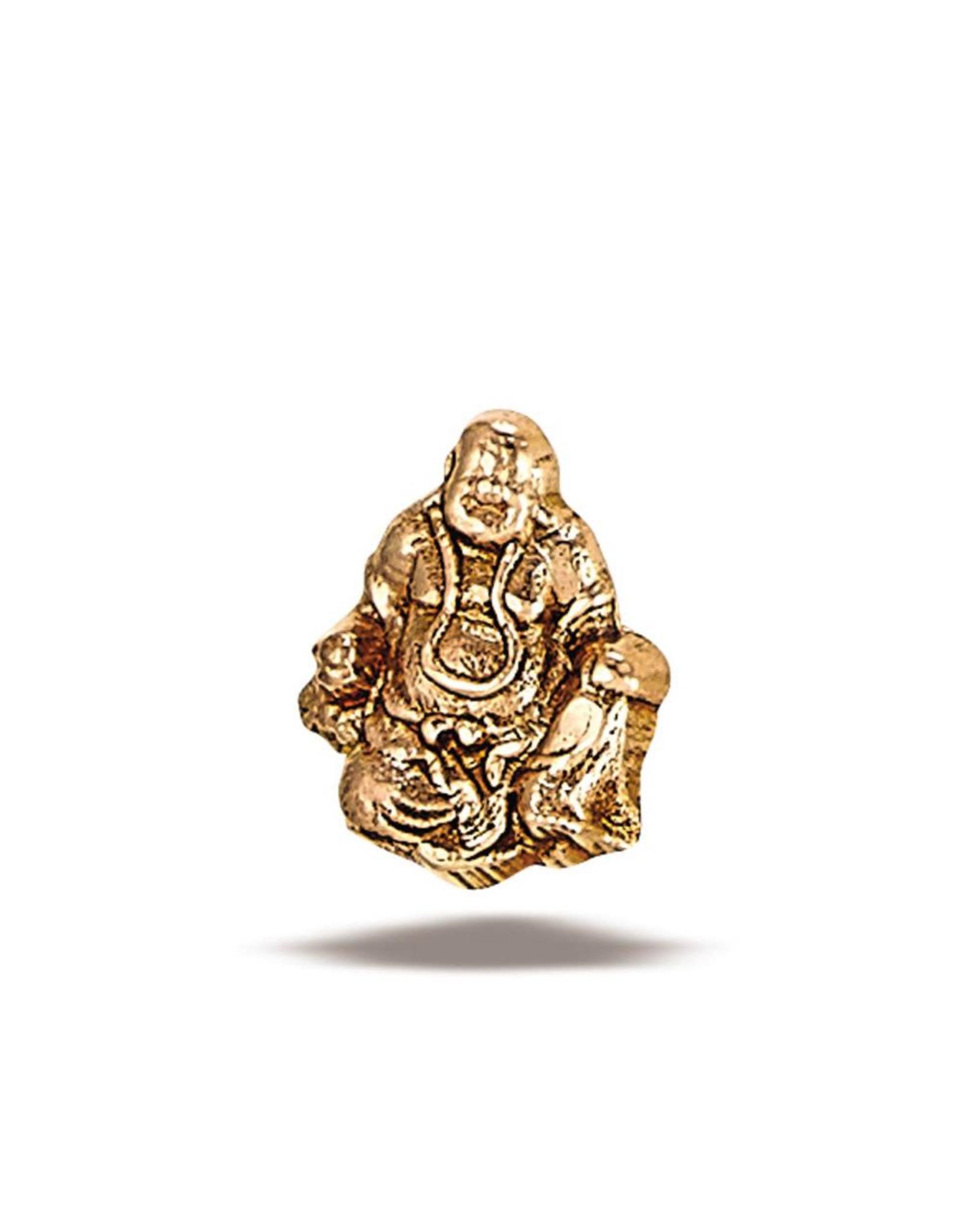 14k RG Buddha (7x5mm) Threadless Pin
