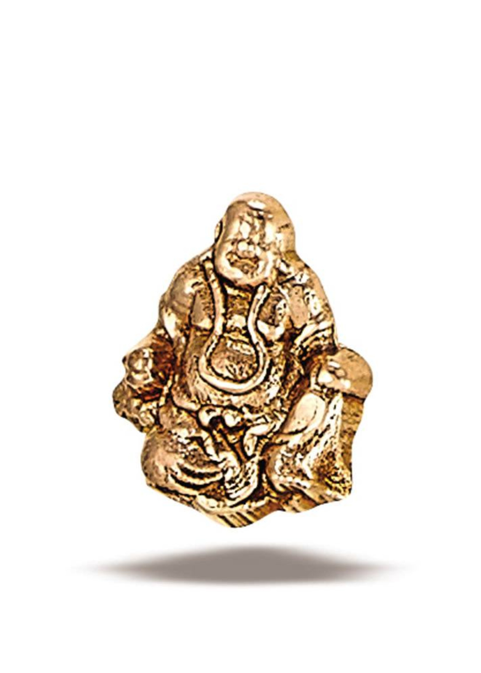 14k RG Buddha (7x5mm) Threadless Pin