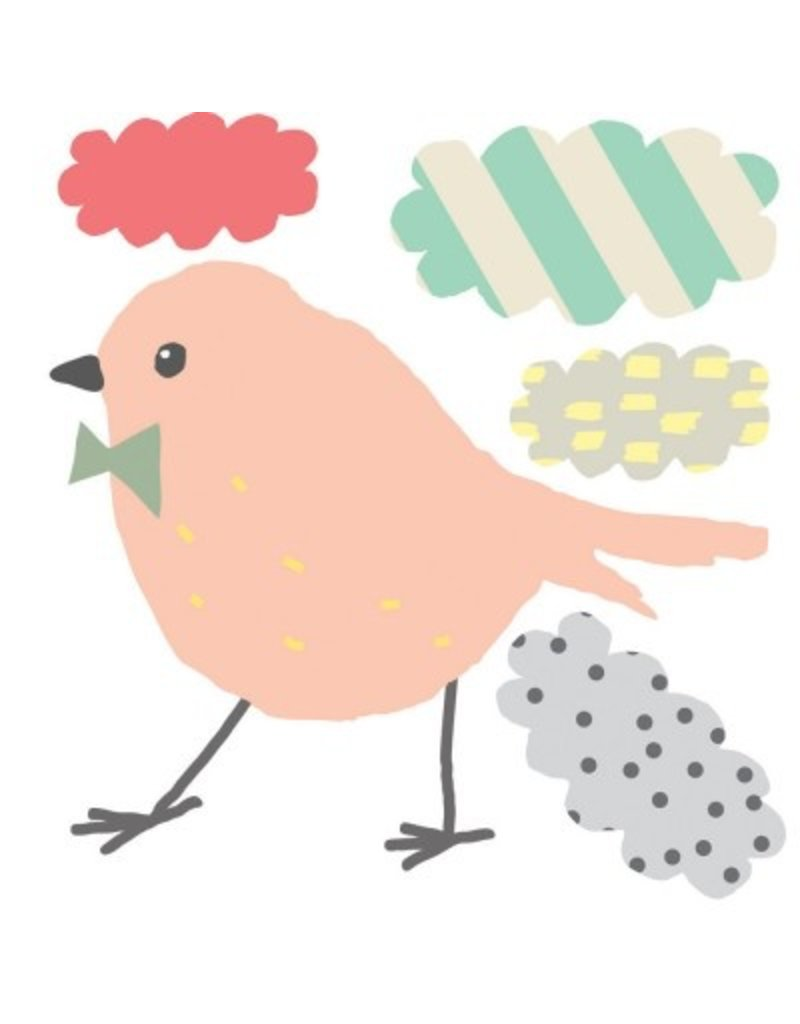 Mimi Lou Mimi lou birdy & nuages mini stickers