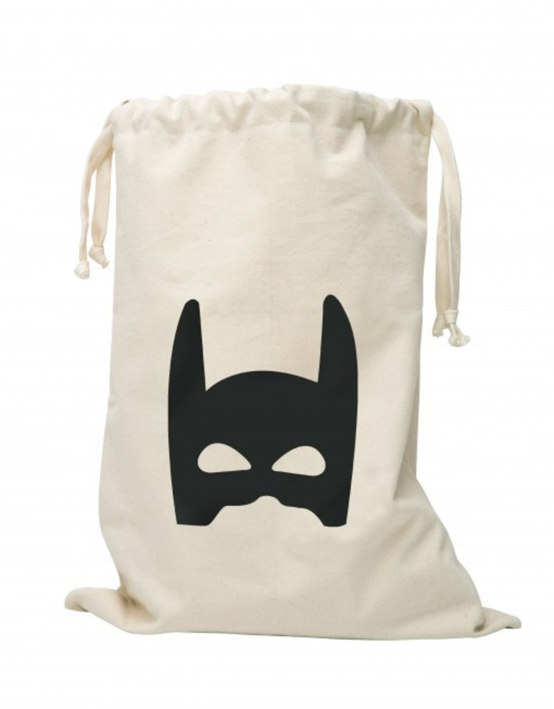 Tell Kiddo Tell Kiddo fabric bag superhero