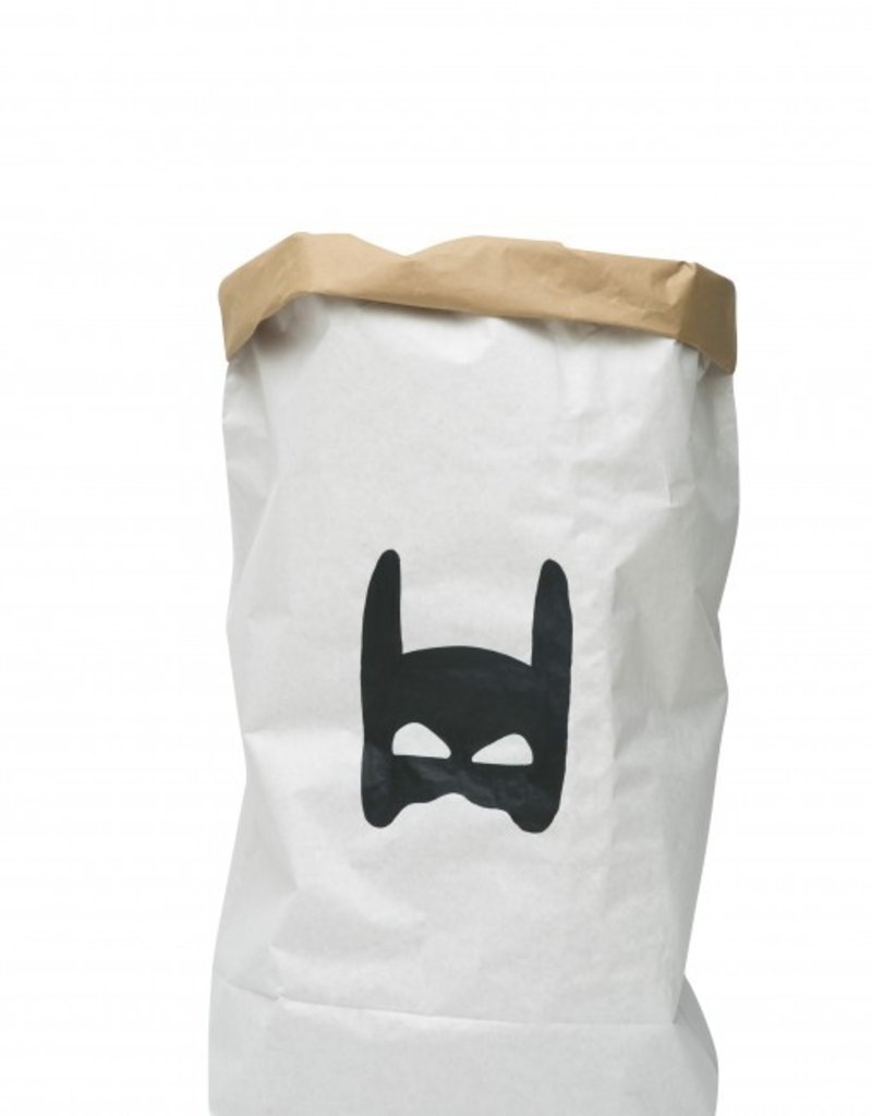 Tell Kiddo Tell Kiddo Paper Bag Superhero Black