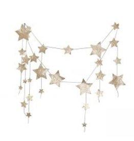 Numero74 N74 Garland Hanging Gold Stars