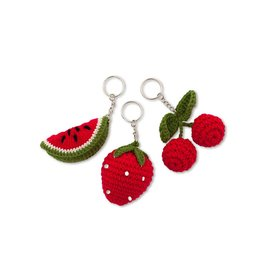 Numero74 N74 Fruit Keyring