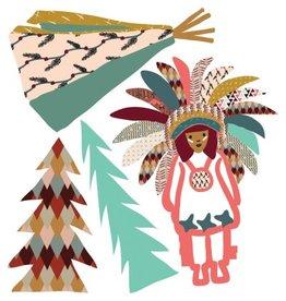 Mimi Lou Mimi Lou Indian mini stickers