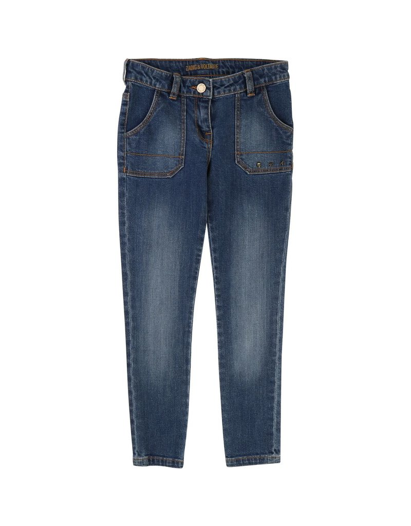 Zadig and Voltaire Zadig and Voltaire Cotton elastane denim pants