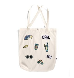 Minti Minti Embroidered Patch Tote