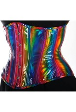 Black Iris Holographic Rainbow Cincher