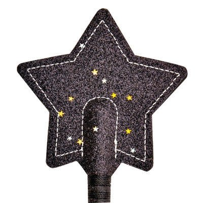 Glitter Sparkle Star Crop