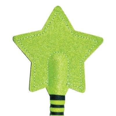 Glitter Sparkle Star Crop