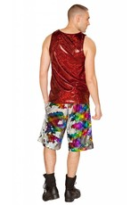 Reversible Sequin Board Shorts