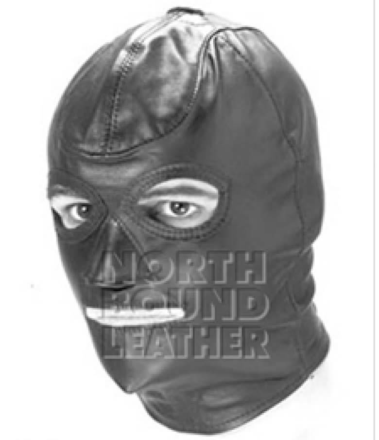 Standard Lace Up Leather Hood