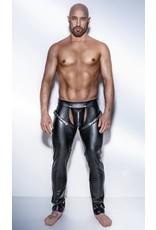 Wetlook Pants w/ Snap off Crotch Cutout
