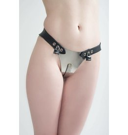 Access Denied Adjustable Femme Stainless Steel Chastity Belt