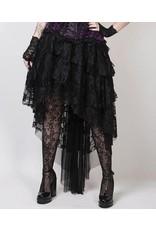 Vintage Goth Burlesque Skirt