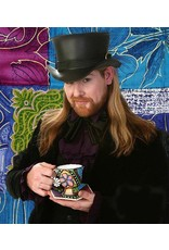 Leather Mad Hatter Top Hat