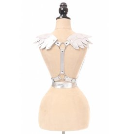 Daisy Leatherette Winged Cupid Wrap Harness