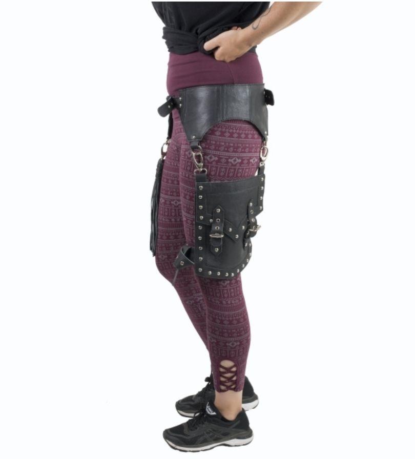 Modular Leather Hip Belt