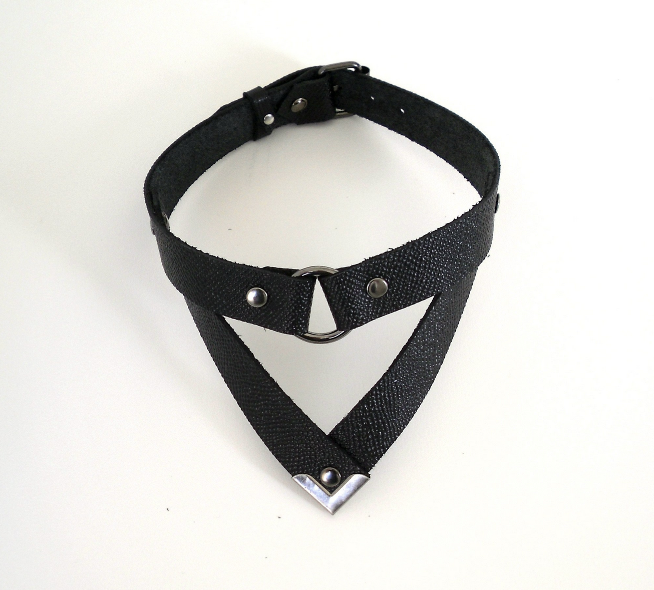 Lovelorn Lingerie Gunslinger Leather Collar