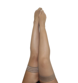 Samantha Nude Fishnet Thigh Highs