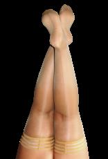 Kix'ies Vanessa Nude Thigh Highs w/ Nude Back Seam