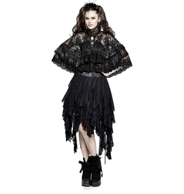 PNKR High Collar Lace Lolita Cloak