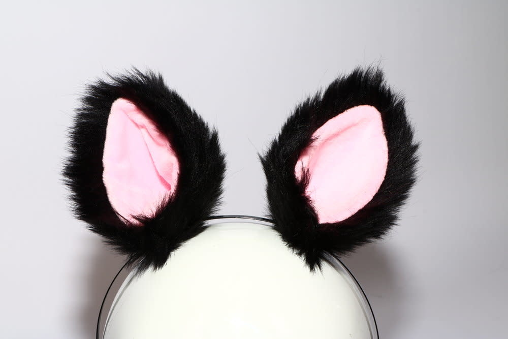 Faux Fur Ears
