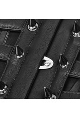 PNKR Faux Leather Cutout Cinch Belt