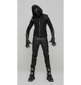 Pullover Hoodie w/ Zip-Up Mask