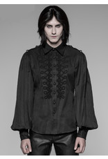Gothic Long Puffy Sleeve Shirt