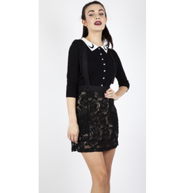 Jawbreaker Lace Suspender Skirt
